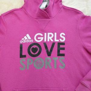 Adidas | Girls Love Sports Hoodie